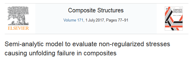 Composite Unfolding. Published Article in Composite Structures.