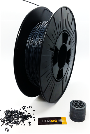 FIDAMC produces and prints its own high performance filaments