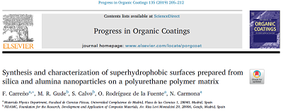 New scientific paper in the journal Progress in Organic Coatings